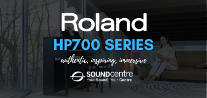 All New Roland HP700 Digital Piano Series At Sound Centre