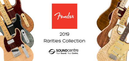 Fender Rarities Collection At Sound Centre