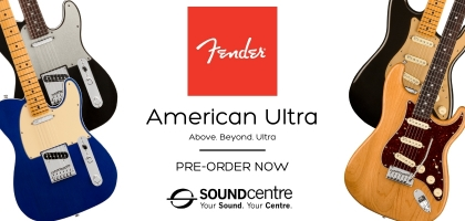 Fender American Ultra At Sound Centre