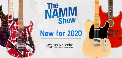 New For NAMM 2020 At Sound Centre