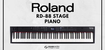 All New! Roland RD-88 Digital Stage Piano At Sound Centre
