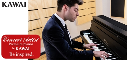 Kawai Concert Artist Pianos At Sound Centre - Be Inspired