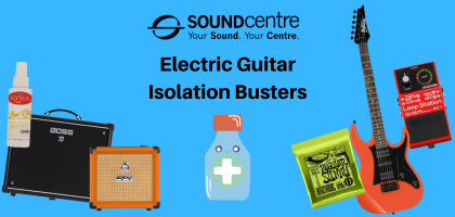 Electric Guitar Isolation Busters
