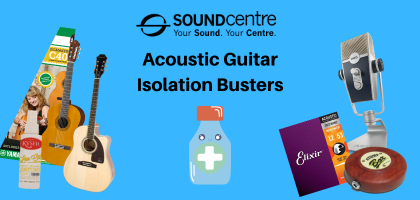 Acoustic Guitar Isolation Busters