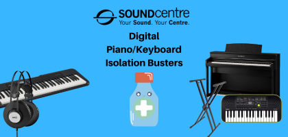 Digital Piano/Keyboard Isolation Busters