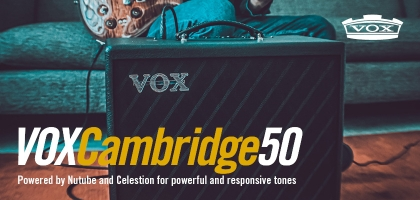 VOX Cambridge 50 At Sound Centre