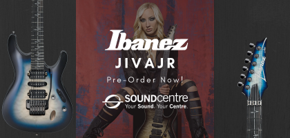 Ibanez Nita Strauss Signature JIVAJR At Sound Centre