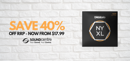 D'Addario NYXL At Sound Centre - Save 40% Off RRP For A Limited Time!