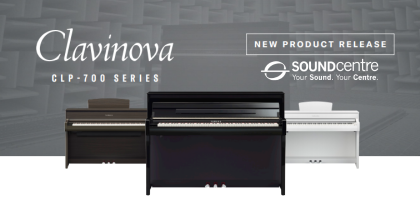 Yamaha Clavinova 700 Series At Sound Centre - All New For 2020!