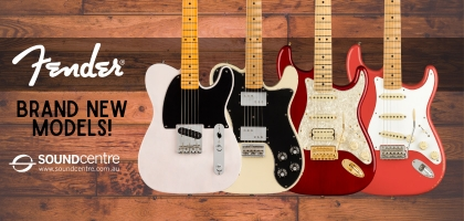 Brand New Fender Models At Sound Centre