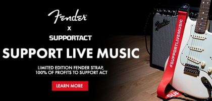 Fender Limited Edition Support Act Strap At Sound Centre