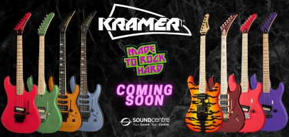 Kramer Guitars 2020 - Coming To Sound Centre