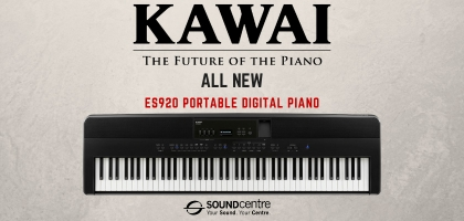 Brand New For 2020 - Kawai ES920 Portable Digital Piano At Sound Centre!