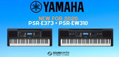 Brand New For 2020 - Yamaha PSR-E373 and PSR-EW310 Digital Keyboards At Sound Centre!