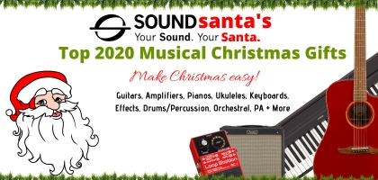 Sound Santa's 2020 Ukulele/Roots Christmas Gift Picks