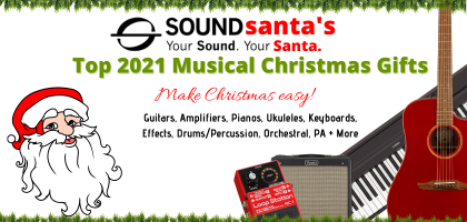 Sound Santa's 2020 Electric/Acoustic/Bass Amp Christmas Gift Picks