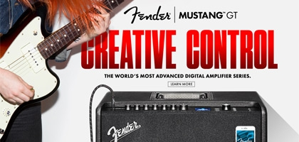 New Fender Mustang GT Series Amps
