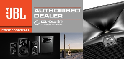 Sound Centre is proud to announce that we are now your authorised and premier dealer for JBL audio products!