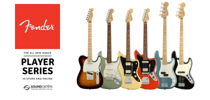 Fender Announces The All New Player Series At Sound Centre!