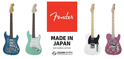 Fender Made In Japan at Sound Centre
