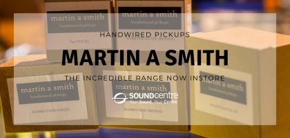 Martin A Smith Hand Wound Pickups at Sound Centre