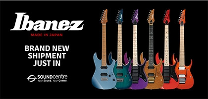 All New Ibanez Prestige Shipment Just In At Sound Centre