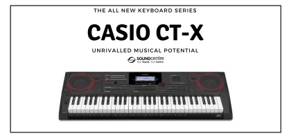 The Casio CT-X Keyboard Series Lands At Sound Centre