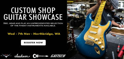 Sound Centre 2018 Custom Shop Guitar Showcase