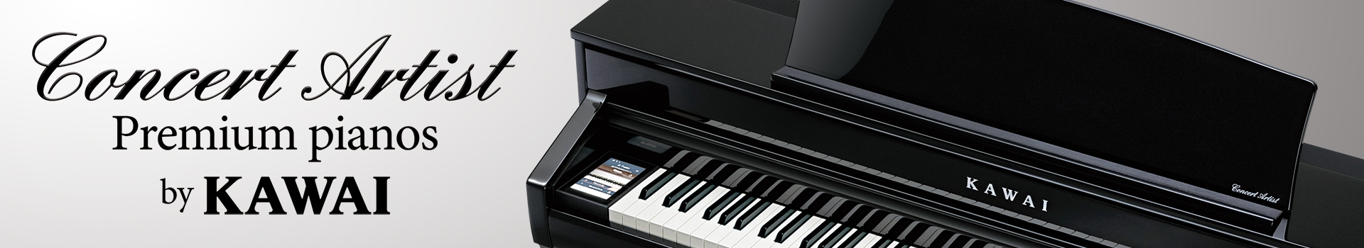 Kawai Concert Artist Digital Pianos - For The Concert Artist In Every Home