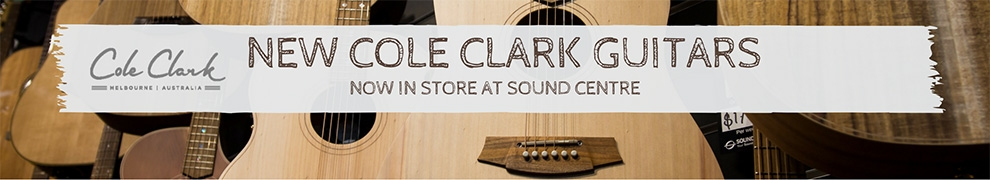 Cole Clark Guitars Brand New For 2018 at Sound Centre