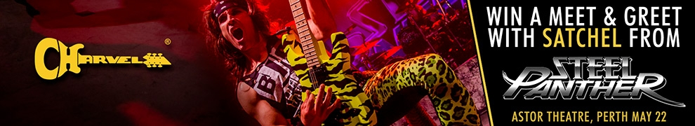 Meet Satchel From Steel Panther Thanks To Sound Centre And Charvel Guitars